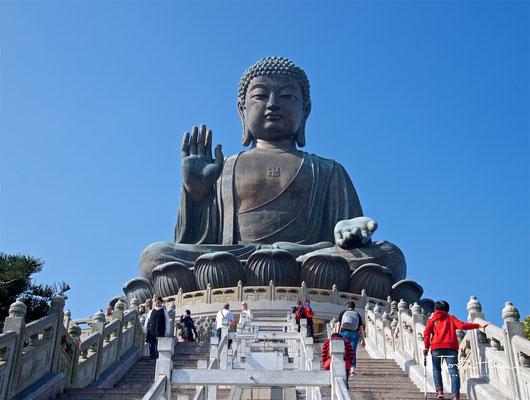 Tian Tan Buddha – Buddhastatue auf Lantau Island