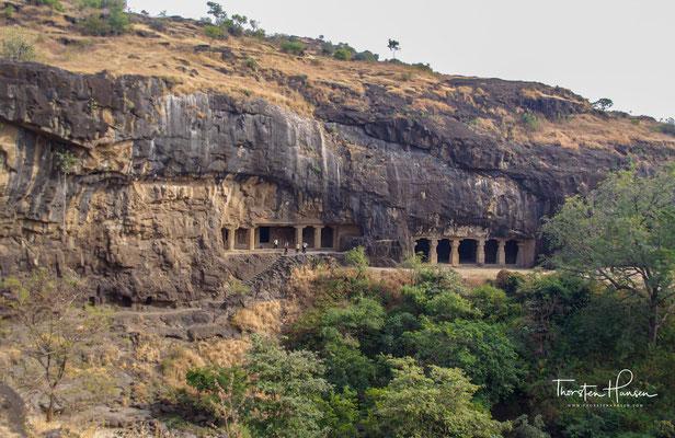Ellora Höhlen - seit dem Jahr 1983 zählt der Komplex aus 34 buddhistischen, hinduistischen und jainistischen Höhlentempeln zum UNESCO-Weltkulturerbe