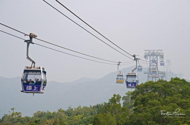 Seilbahn nach Lantau Island