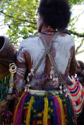 Eröffnungszeremonie des Haus Tambaran im Dorf  Wombun am Sepik