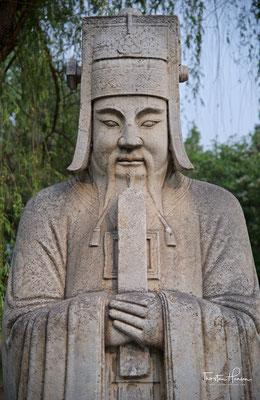 Statue eines Ming-Beamten.