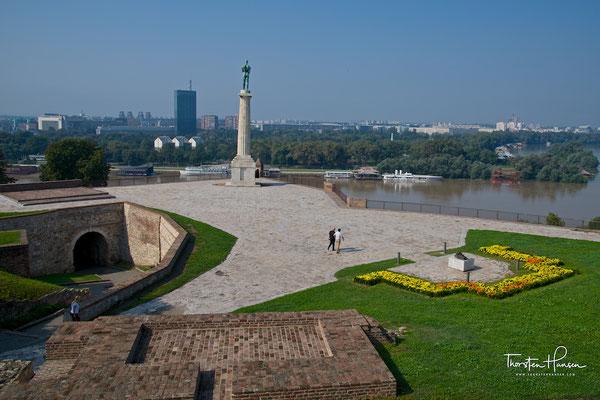 Der Sieger, Symbol von Belgrad