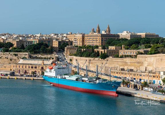 La Valettes Vision ging über eine einfache Befestigungsanlage hinaus. Valletta sollte zu einem großen Kultur- und Handelszentrum heranwachsen,..