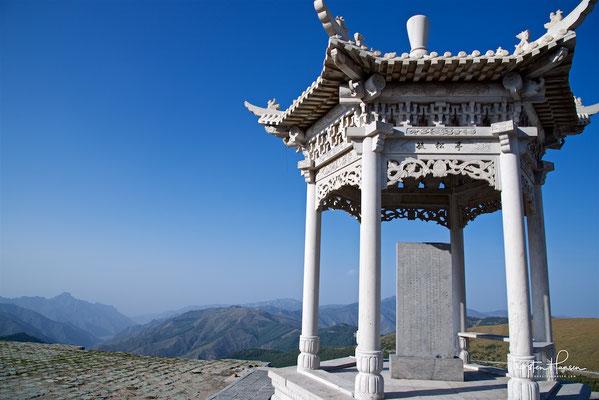 Unterwegs Zum heiligen Berg Wutan Shan