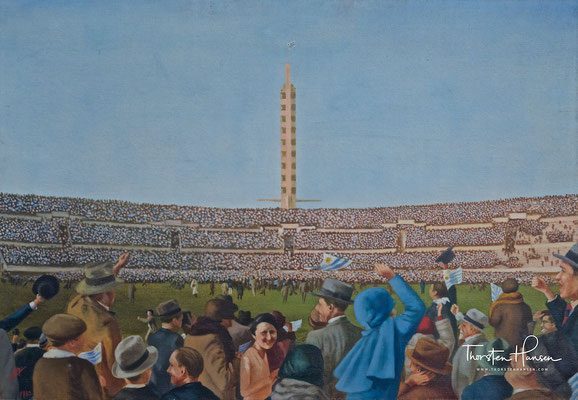MUSEO DEL FÚTBOL im Estadio Centenario in Montevideo