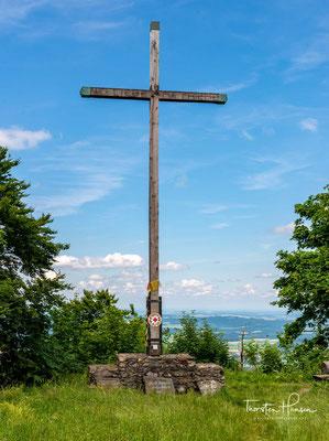 Gipfelkreuz vom Hohenbogen