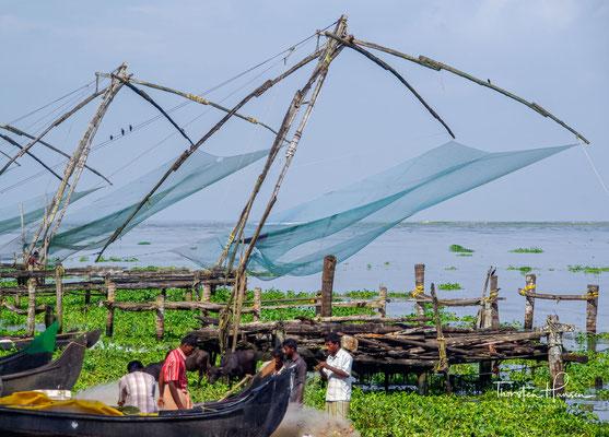 Kochi ist eine Stadt im Bundesstaat Kerala im Süden Indien und an einem Naturhafen der Malabarküste gelegen.