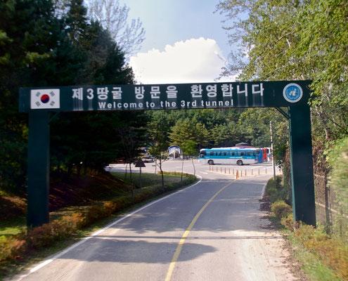 Der 3 Tunnel der Nordkoreaner