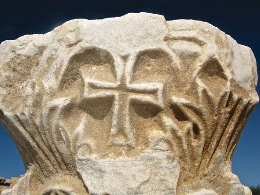 Kreuz in Caesarea