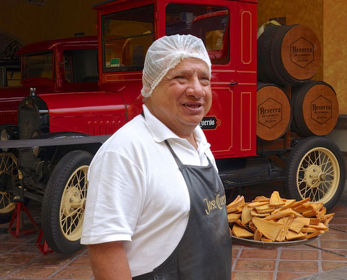 José Cuervo in Tequila in Jalisco