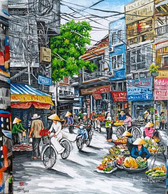 Strassenszene in Vietnam