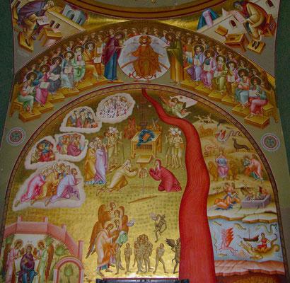 Die griechisch-orthodoxe Kirche der Zwölf Apostel In Kapernaum