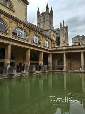 Römische Therme in Bath