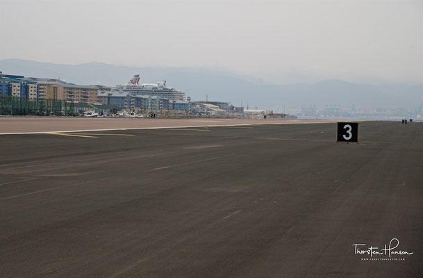 Flughafen von Gibraltar