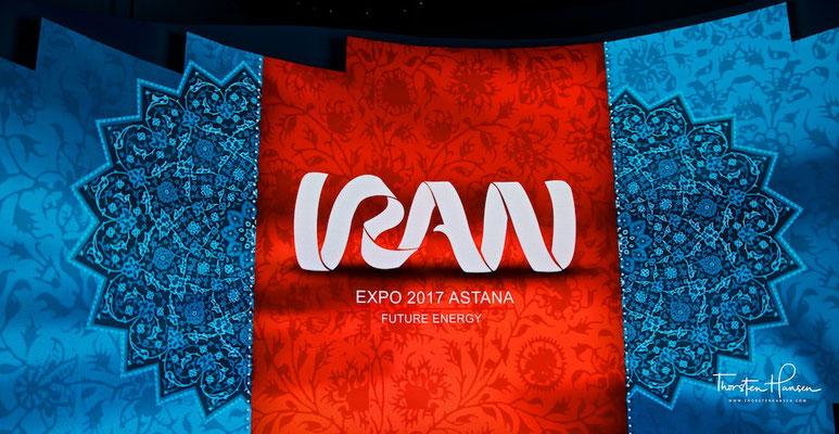 Der iranische Pavillion