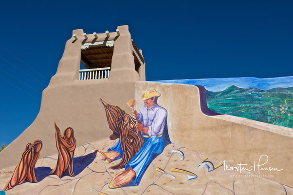 Adobe Stadt Taos
