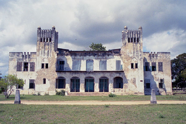 Alte deutsche Boma in Bagamoyo