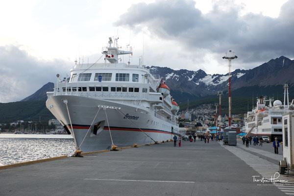 Die MS Bremen von Hapag-Lloyd