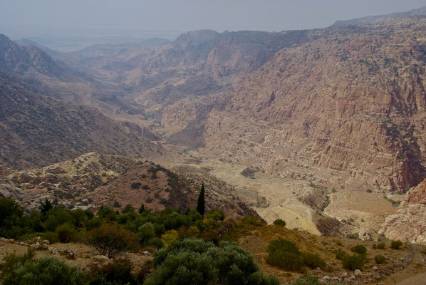 Eindrücke vom Wadi Dana