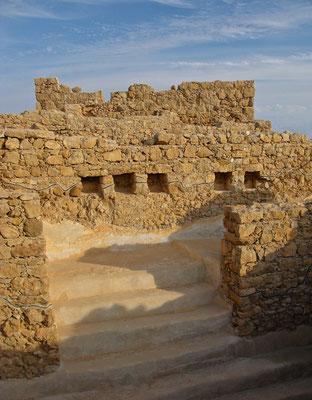 Für die Juden ist Masada Inspirationsquelle und Symbol des jüdischen Behauptungwillens.
