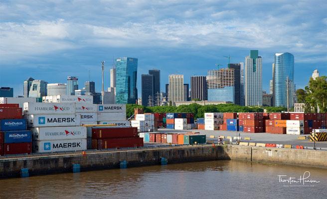 Hafen von Buenos Aires