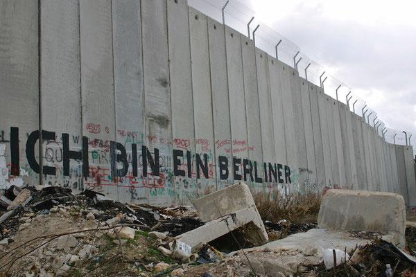 Grenze Israel-Palestina