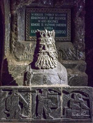 Die Salzmine ist ein Ergebnis von vielen Generationen von Bergleuten, sie ist ein Denkmal der Geschichte Polens und der polnischen Nation. Die Mine ist seit Jahrhunderten im Bewusstsein von Polen.
