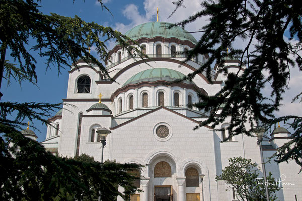 Dom des Heiligen Sava in Belgrad