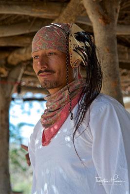 Rotwildtanz der Mayo Indianer