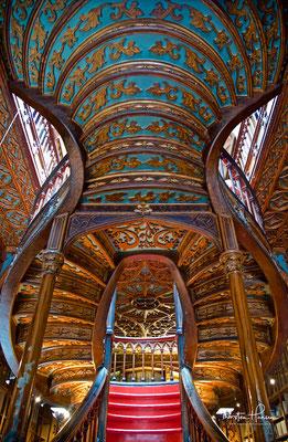 Livraria Lello Buchhandlung in Porto