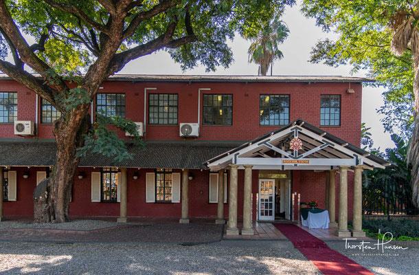 "Privater Rovos Rail Bahnhof in Pretoria ""Capital Park"""