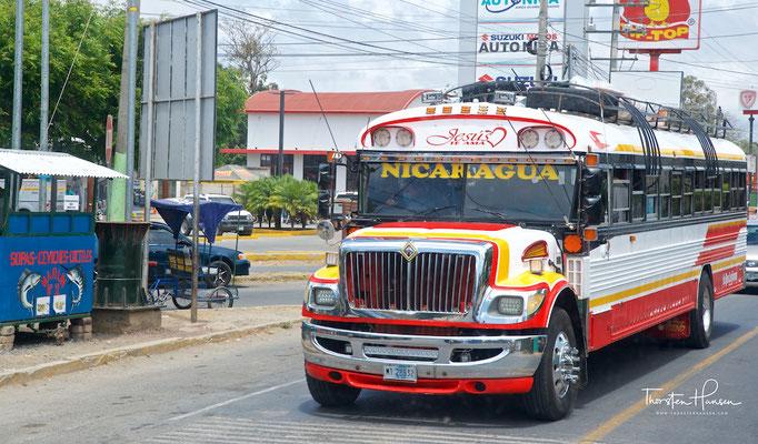 Öffentlicher Bus in Nicaragua