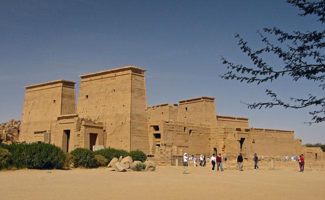 Tempel der Isis auf Philae