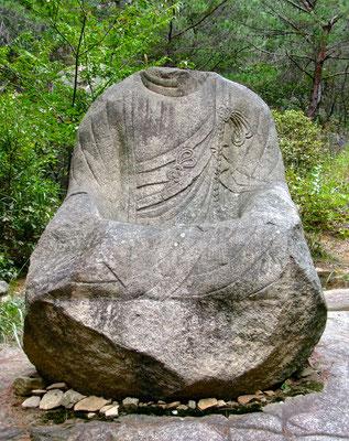 Mt. Namsan - zwischen Bäumen, Buddhas und Tempeln