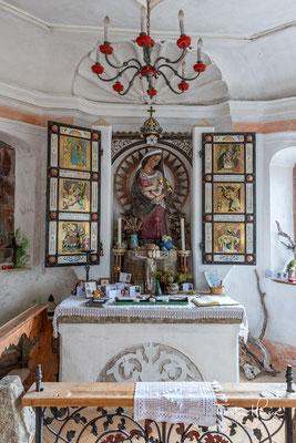 Das Innere der Marienkapelle