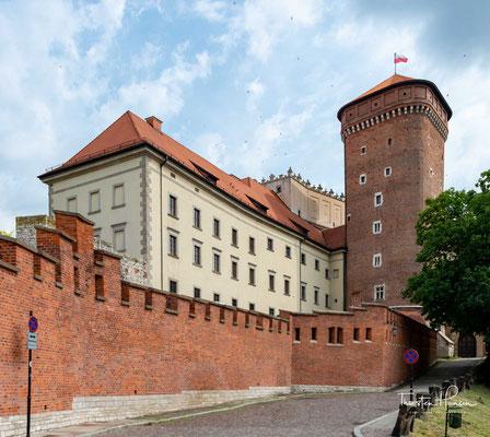 Der Wawel ist ein 228 m n.p.m. hoher Hügel aus Kalkfelsen, der sich im Zentrum Krakaus über die Weichsel an deren linkem Ufer erhebt.