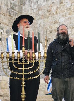 Kleine Demo in Jerusalem