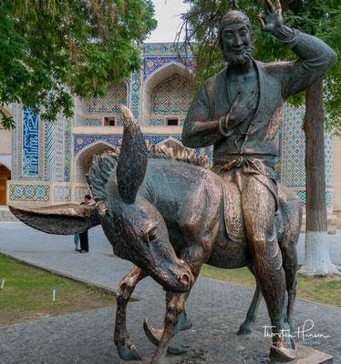 Hodscha Nasreddin ist der Name des prominentesten Protagonisten humoristischer prosaischer Geschichten im gesamten türkisch-islamisch beeinflussten Raum vom Balkan bis zu den Turkvölkern Zentralasiens.