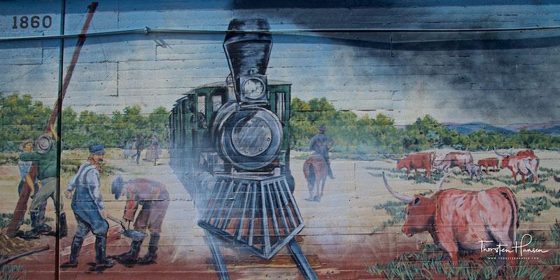 Wandgemälde Oklahoma City