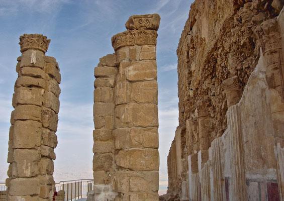 Nördlicher Palast in Masada