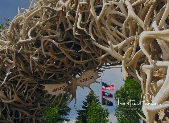 Jackson Hole in Wyoming
