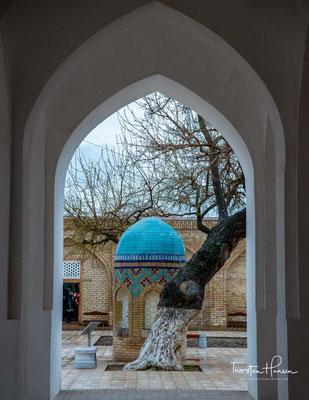 Sie ist das Herzstück der Medrese Dorut Tilovat.