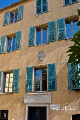 Geburtshaus von Napoleon in Ajaccio