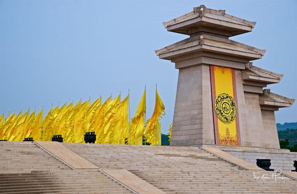Mausoleum des Gelben Kaisers in Huangling