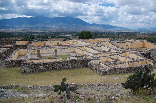 Palast von Yagul