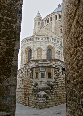 Die Dormitio-Abtei der Benediktiner
