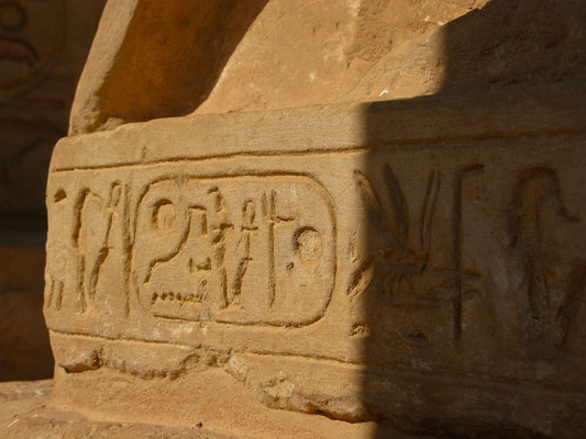 Großer Tempel von Ramses II in Abu Simbel