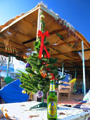 Weihnachtsbaum in Dahab