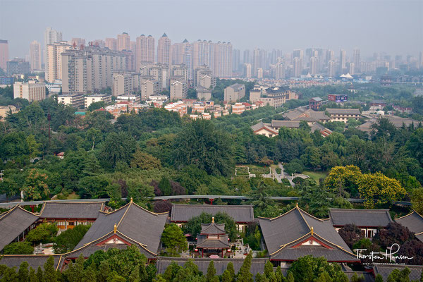 Blick auf Xi'an