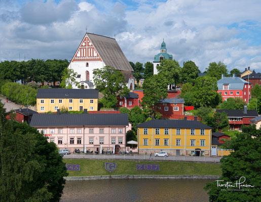 Porvoo ist eine Stadt und Bischofssitz am Finnischen Meerbusen im Süden Finnlands, 50 km nordöstlich von Helsinki.